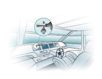 Firet Feuerschutz Sensor für Boote