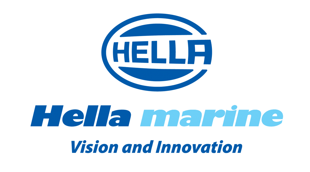 Logo Hella Marine Bootsbeleuchtung