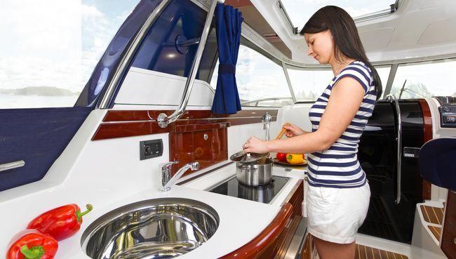 Wallas Einbaukochherd für Boote