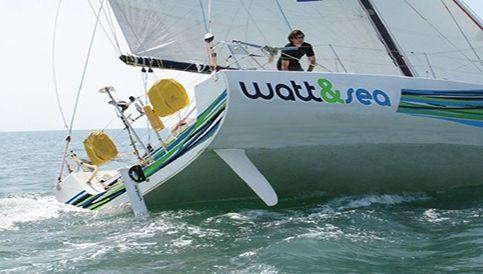 Watt&Sea Hydrogenerator im Einsatz